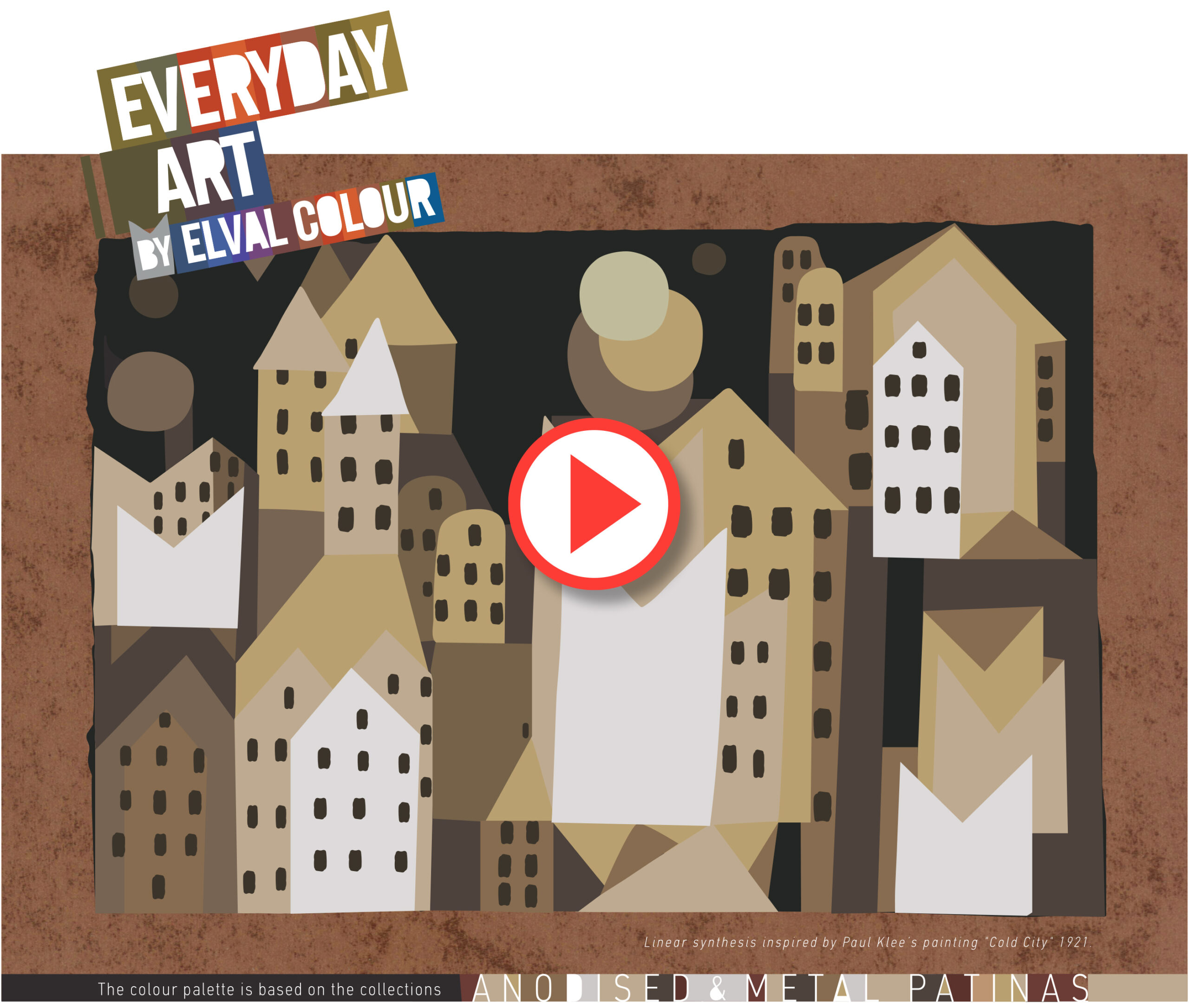 everyday art by elval colour