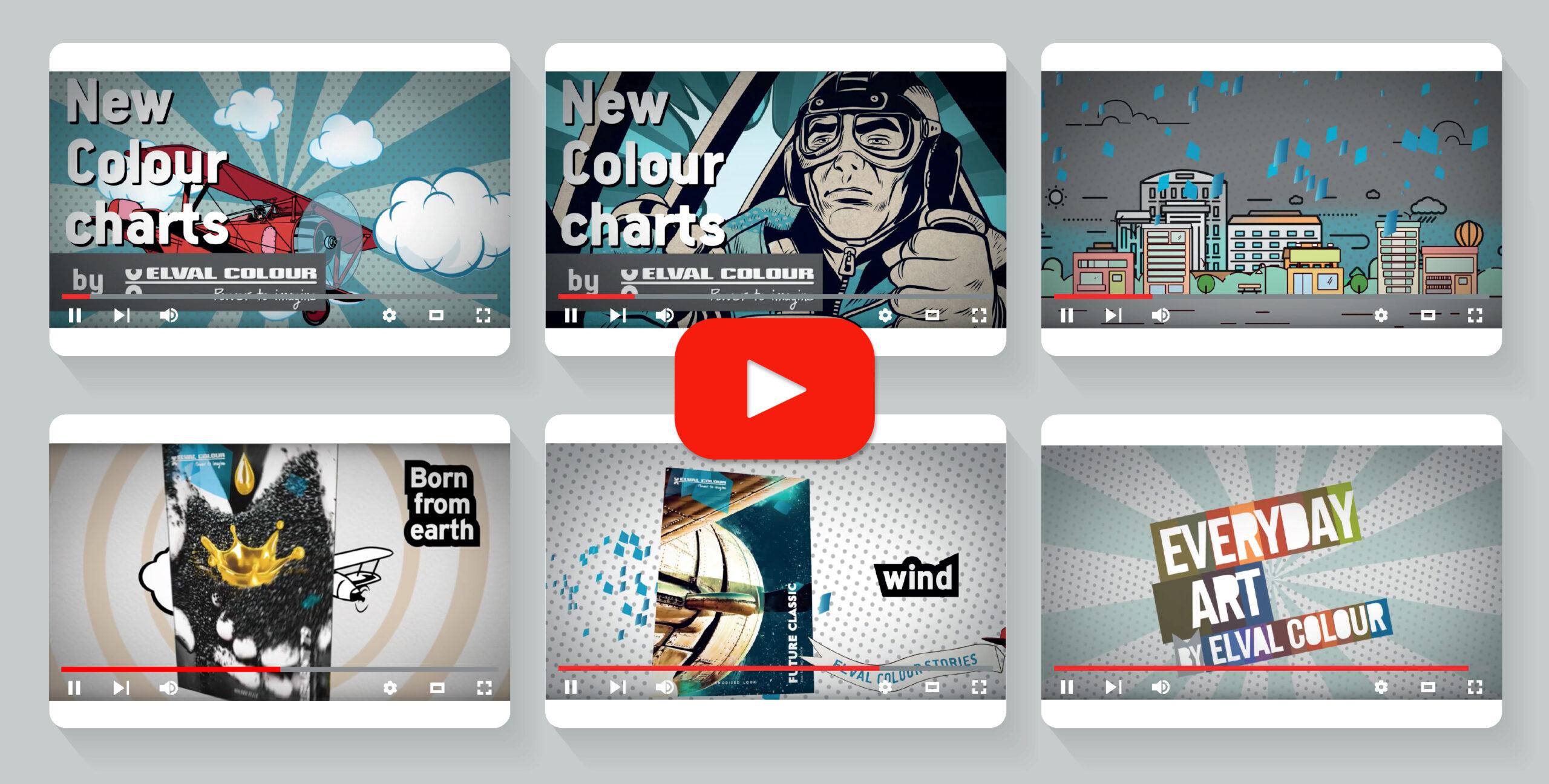 Ιστορίες δημιουργικότητας by Elval Colour